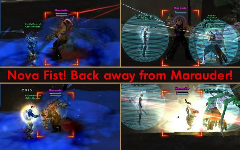 Nova Fist attack (click to enlarge)