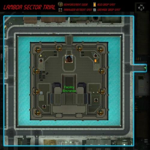 Lambda Sector map